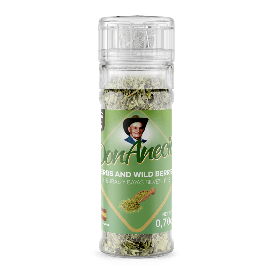 Don Anecio Herbs and Wild Berries Grinder