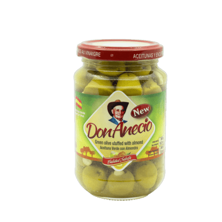 Green olives with almond Don Anecio