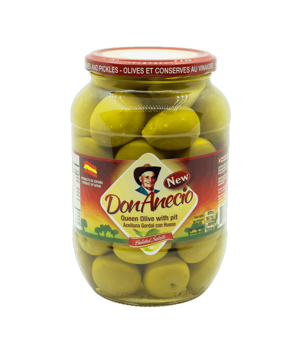 Queen olives with pit Don Anecio