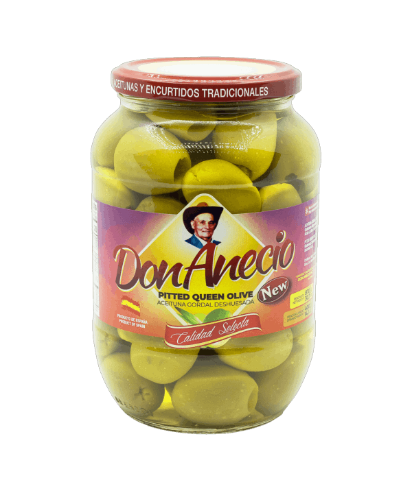 Pitted Queen Olives Don Anecio
