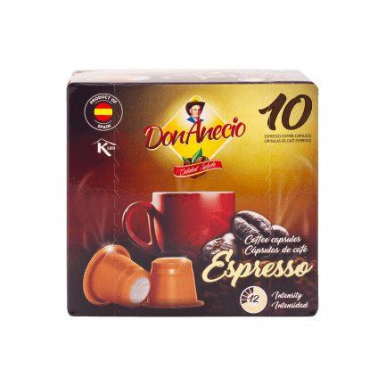 Don Anecio Coffee capsules