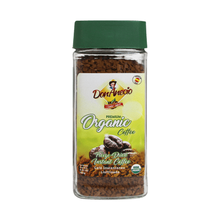 Organic instant coffee Don Anecio