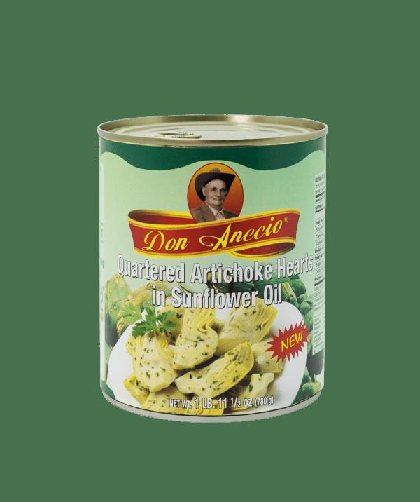 DonAnecio-1L-quartered artichoke-hearts-oil