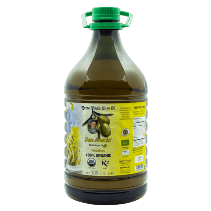 Organic Extra Virgin Olive Oil 3L Don Anecio