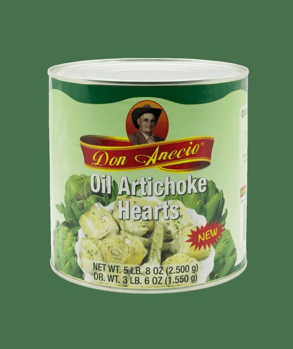 oil artichoke hearts