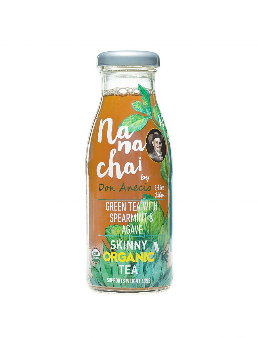 Nana chai by Don Anecio green tea with spearmint and agave