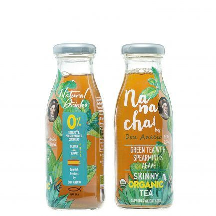 Nana chai by Don Aneciogreen tea with spearmint and agave