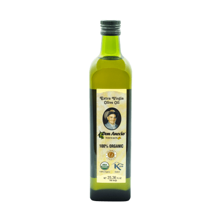 Buy Don Anecio Organic 750 ml Extra Virgin Olive Oil