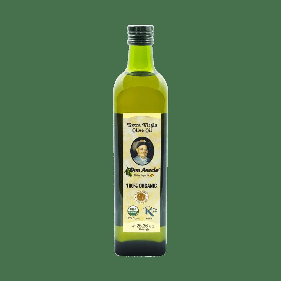 Buy Don Anecio Organic 750 ml Extra Virgin Olive Oil